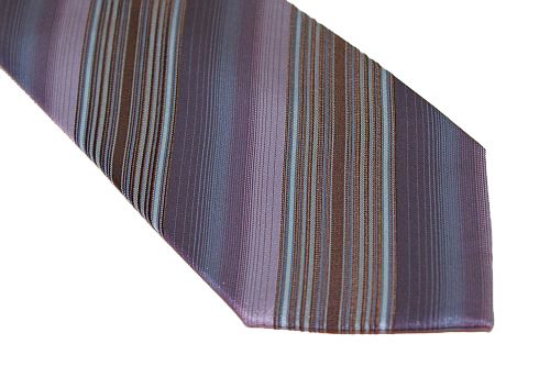 Kenneth Cole Reaction Tie - Purple Brown Blue
