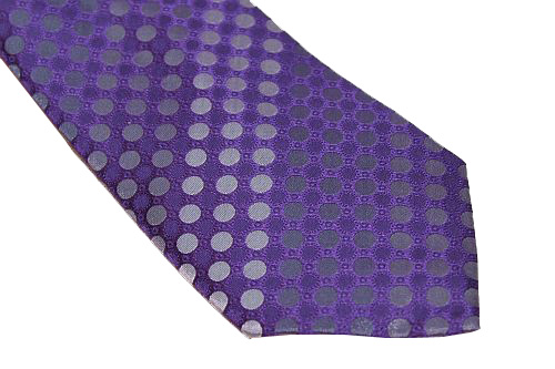 Sean John Tie - Purple Dots