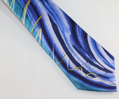 garcia tie blue teal gold