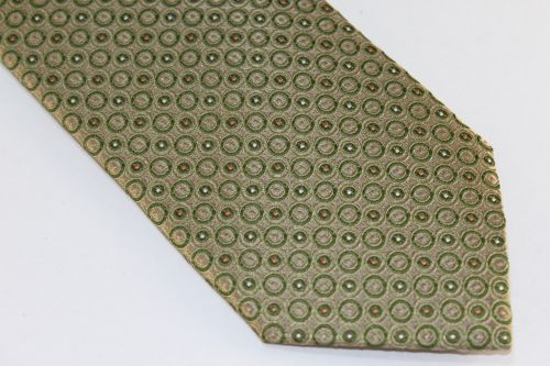 Lanae Joy Tie Moss Green Copper White