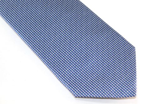 Lanae Joy Extra Long Tie Blue Silver