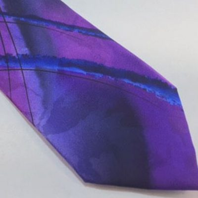 Jerry Garcia Tie Purple Blue