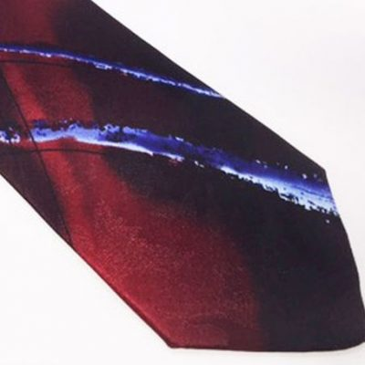 Jerry Garcia Tie Red Blue